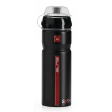 Elite bidon Syssa 750ml, czarn., Alu