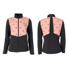 XLC Casual Hybrid Merino Fleece kurtka Roz. L czarny/pink