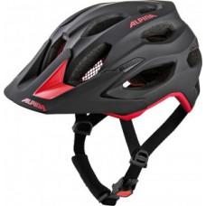 kask rowerowy Alpina Carapax 2.0 black-red rozm.52-57cm
