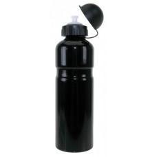 Bidon Alu 0,75 litrowa czarny z klapa