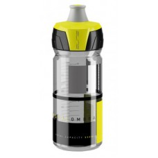 Elite bidon Chrystal Ombra 550ml, dym./zólty