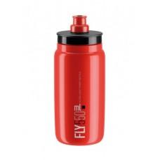 bidon Elite Fly 550ml, czerwony/czarn.