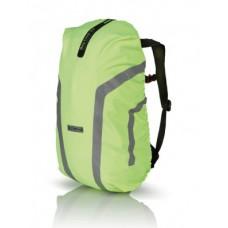 Oslona przeciwdeszczowa na plecak XLC odblaskowy zólty