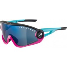 Okulary Alpina 5W1NG CM+ Oprawka nieb.-magenta-czarn szklo nieb.