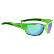 okulary sloneczne Alpina Keekor oprawka  neon zielony szkla  zielony .S3