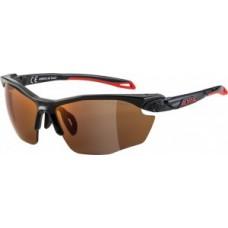 Okulary Alpina Five HR HM+ Oprawka czarn. red szklo red