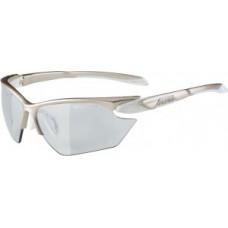 Okulary Alpina Five HR S VL+ Oprawka proseko-bialy szklo czarne