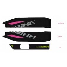 naklej.  E-Bike Sduro, do osl.na baterie 2017,czarny+neon zielony+czarny polysk