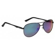 okulary sloneczne Alpina A107P oprawka  czarny szkla  pol zielony .S3