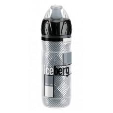 bidon termiczny Elite Iceberg 500ml, Logo szary