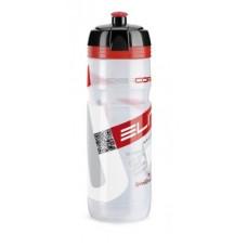 Elite bidon Super Corsa 750ml, bezbarwn, Logo czerwone
