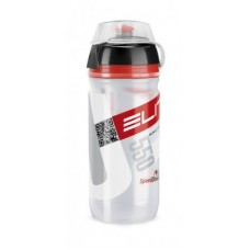 Elite bidon Corsa MTB 550ml, bezbarwn, Logo czerwone