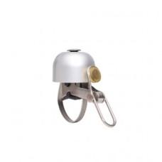 mini dzwonek Design Brave Classics polerowane srebro