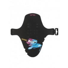 XLC Duzy Mini blotnik  MG-C31 PK lodowy pedal