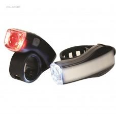SERFAS LAMPY P+T ZESTAW SL-5 i TL-5 1-LED CZARNY