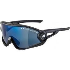 Okulary Alpina 5W1NG CM+ Oprawka czarn/nieb. szklo nieb.