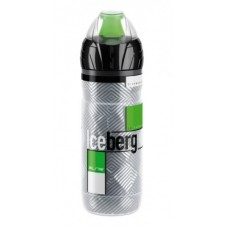 bidon termiczny Elite Iceberg 500ml, Logo zielony