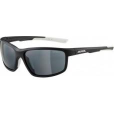 Okulary Alpina Defey Oprawka czarn. mat- bialy szklo czarne