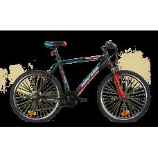 """Monteria rower MRX 26"""" - czarno-czerwony"""