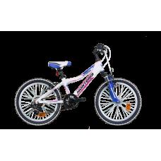 """Monteria rower Fitness 20"""" - biało-różowy"""