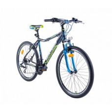"""Monteria rower Junior 26"""" - czarno-zielony"""