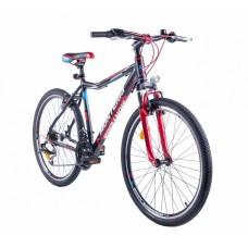 """Monteria rower Junior 26"""" - czarno-czerwony"""