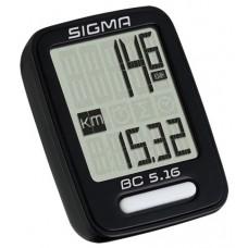 Sigma licznik rowerowy przewodowy BC 5.16