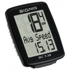 Sigma licznik rowerowy przewodowy BC 7.16