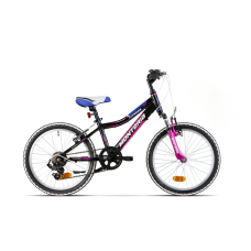 """Monteria rower Fitness 20"""" - czarno-różowy"""