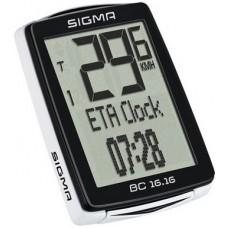 Sigma licznik rowerowy przewodowy BC 16.16