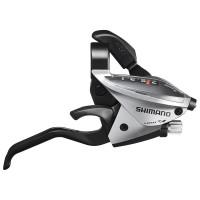 Shimano klamkomanetka ST-EF51 Prawa 7rz ST-EF510 Srebrna