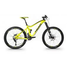 """HEAD rower Downey - 27.5"""" - neonowo żółty"""