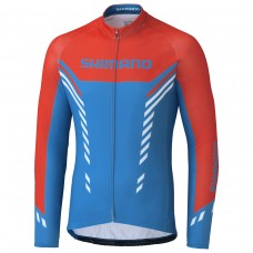 Shimano Bluza Zimowa Thermal Print Blue XL