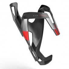 Elite Koszyk Vico Carbon Czarno - czerwony