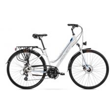 Rower ROMET GAZELA 2 biało - niebieski 2021