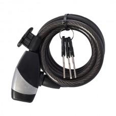 OXC Zabezpieczenie KeyCoil10 Czarne 10x1800mm