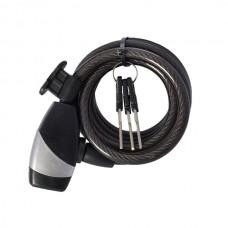 OXC Zabezpieczenie KeyCoil12 Czarne 12x1500mm