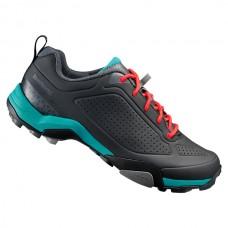 Shimano buty damskie SH-MT300 Czarno/Zielone r.36