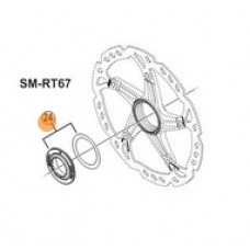 Shimano Nakrętka i podkładka tarczy Center Lock SM-RT67