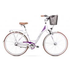 Rower ROMET ART DECO 7biało-fioletowy 2021