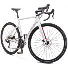 Rower ROMET ASPRE 2 srebrno-czerwny 2022