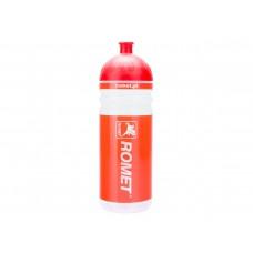 Bidon 0,7 l. przeźroczysto-czerwony ROMET