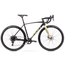 Rower ROMET BOREAS 2 czarno-beżowy 2021