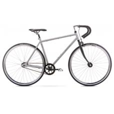 Rower ROMET FIXED GEAR grafitowo - czarny 2021