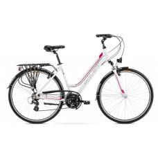 Rower ROMET GAZELA 1 biało - różowy 2021