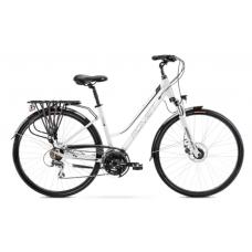 Rower ROMET GAZELA  4 biało - czarny 2021