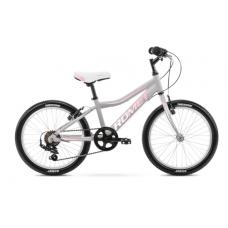 Rower ROMET JOLENE 20 KID 1 szaro-różowy 2021