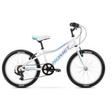 Rower ROMET JOLENE 20 KID 1 biało-niebieski 2021