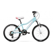 Rower ROMET JOLENE 20 KID 2 niebiesko-różowy 2021