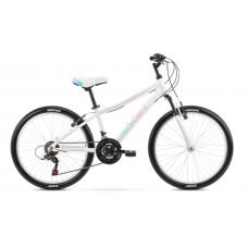 Rower ROMET JOLENE 24 biało-niebiesko-różowy 2021